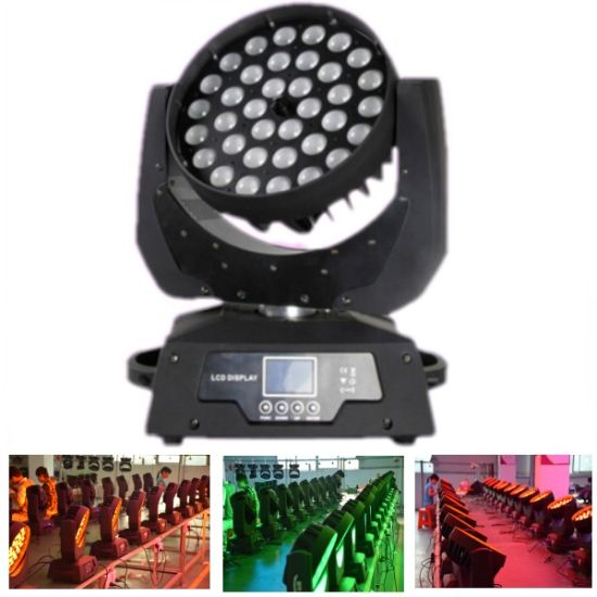 RGBW Zoom Wash 4in1 36*10W LED Stage Light