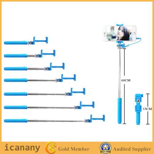 New Cable Selfie Stick for Smart Phone (Mini3) pictures & photos