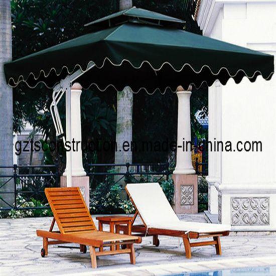 3m Garden Banana Cantilever Umbrella for Outdoor Furniture