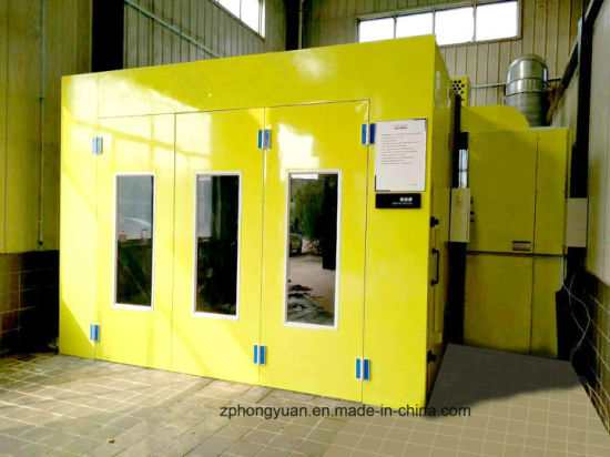 Used Car Paint Spray Booth for Painting and Baking Cars