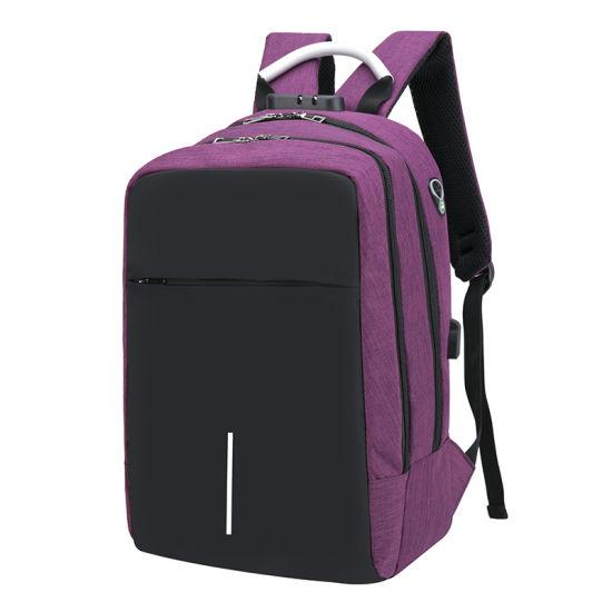 san francisco 550de f7ca9 New Design Waterproof Anti Theft Travel School Laptop USB Headphone Jack Bag