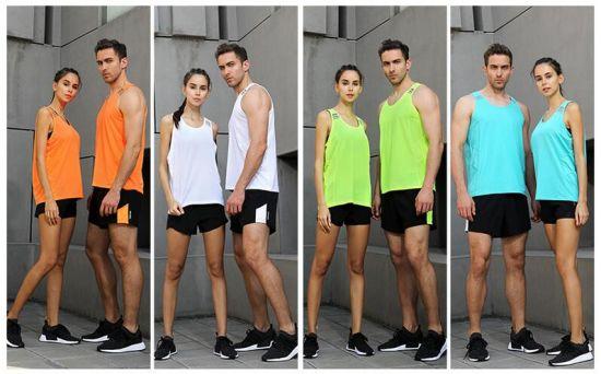 1b34d79e4bcc1 Fitness Club Breathable Vest Tank Top Custom Cotton Spandex Mens Gym  Singlets