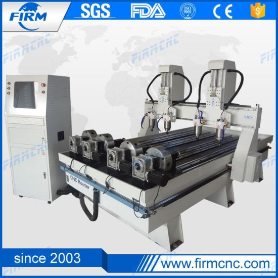 Professional CNC Router Wood Engraving Machine for Cylinder