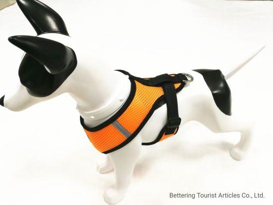 Reflective Sandwich Dog Harness Orange