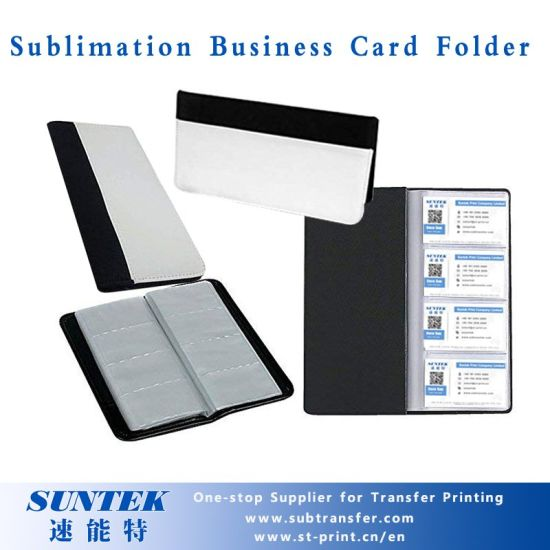 Sublimation Heat Transfer Business Card Holder pictures & photos