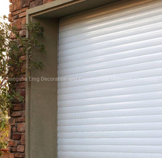 Modern Design Customized Size Aluminum Exterior Industrial Use Rolling Roller Shutter Door