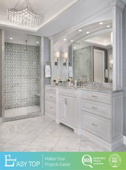 Luxury Marble Vanity Top Bathroom White Bathroom Vanity Italian Design Bathroom Cabinet Vanity