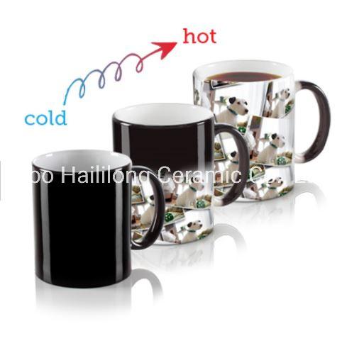 11oz Color Changing Ceramic Mugs