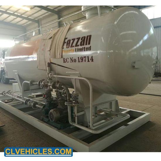 2tons 5tons 10tons 15tons 20tons 50tons LPG Skid Station 10mt Cylinder Bottling Mobile Gas Filling Storage Station Plant for Sale