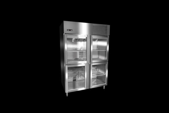 4 Glass Doors Upright Commercial Freezer pictures & photos