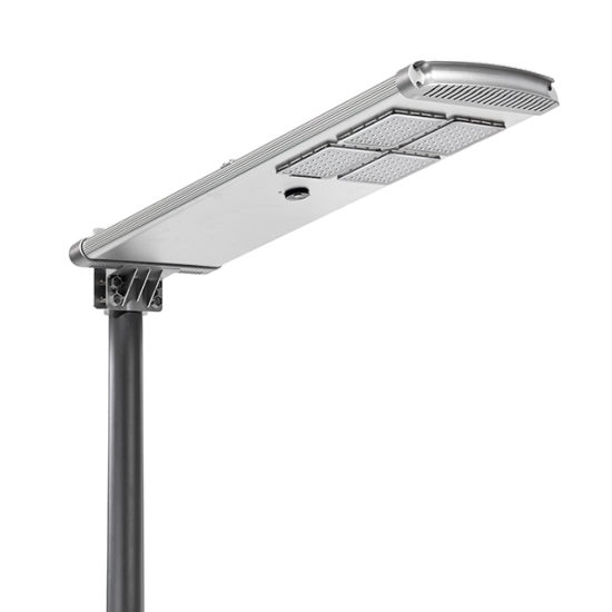 All in One 50W 60W 90W 100W 120W Outdoor IP67 OEM Solar LED Street Garden Road Light with Remote Control Integrated /Microwave Induction with CCTV Camera
