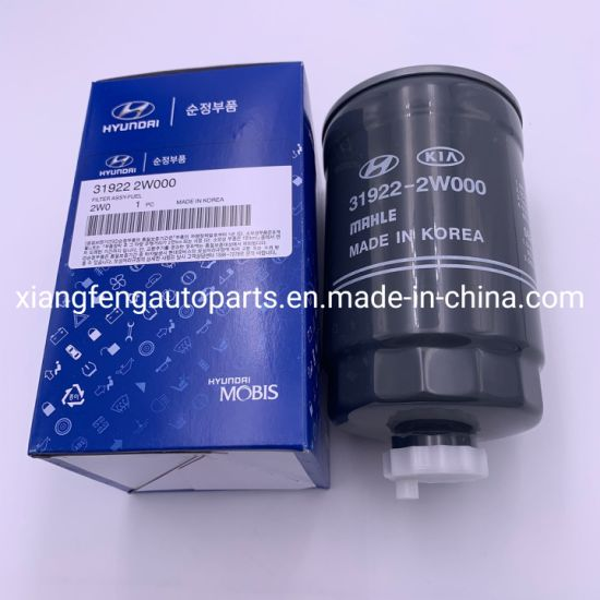 Auto Transmission Oil Filter 31922-2W000 for Hyundai pictures & photos