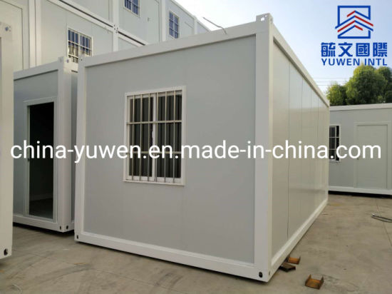20FT Cheap Flat Pack Container House Home Office Made in China