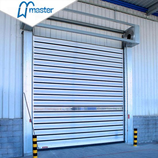 Industrial Commercial High Speed Spiral Roller Shutter Door