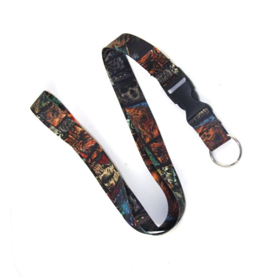 Personalized Design Printed Funny Sublimation Custom Lanyard