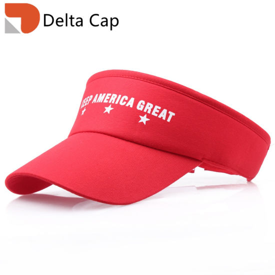 Wholesale Trump 2020 American Election Embroidery Visor Bucket Hat Baseball Cap pictures & photos