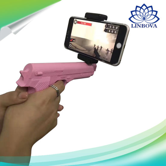 Mobile Phone Controlled APP Smart Game Toy Ar Gun Pistol pictures & photos
