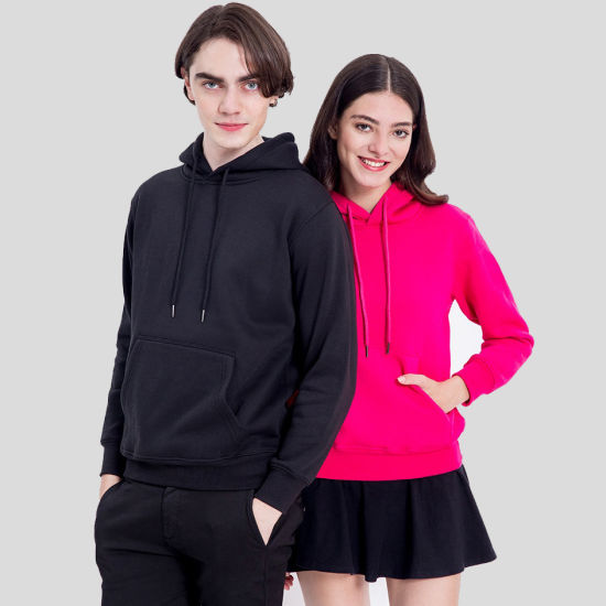 Cheap Price Unisex Hoodie Fashion Pullover with Custom Printing Logo