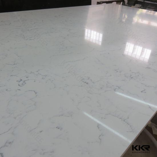 Quartz Stone Slab For Wall Tile Kitchen