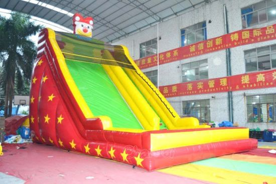Pentagram Star Inflatable Slide for Commercial Use (CHSL638) pictures & photos