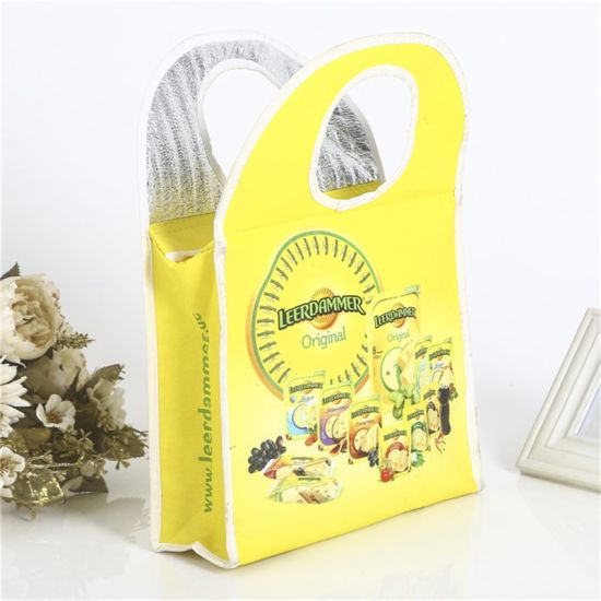 PP Non Woven Cooler Bag, Custom Color and Logo, Your Design Non Woven Insulated Tote Thermal Wine Can Beer Bottle Ice Lunch Picnic Cooler Bag Wholesales