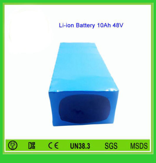 Rechargeable Battery Pack 48V 10ah Li-ion Battery for Electric Bikes (EA48-10) pictures & photos