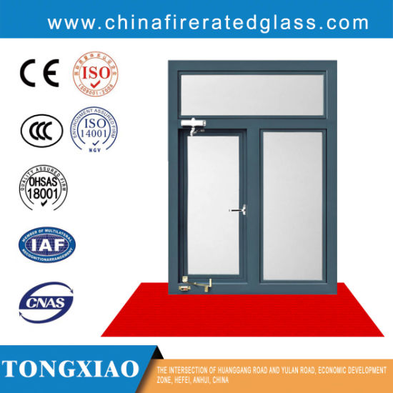 China Steel Frame Fire Rated Windows with Low Ug Fire Rated Glass|Ei ...