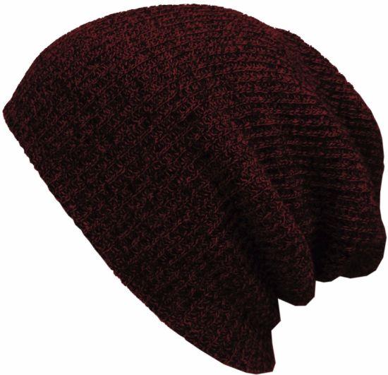 China Good Sale Factory Winter Cap Knitting Pattern Hat Without Logo