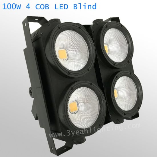4X100W COB Blinder Stage Light pictures & photos