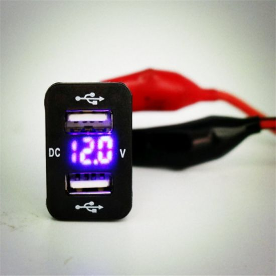 Charger 4.2A USB with Voltmeter Specific for Camry Vigo Patrol