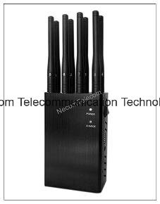 4G Lte/4G Wimax Cellphone Signal Jammer; Handheld 8 Antenna Cellular Phones+GPS+Wi-Fi+Lojack Jammer/Blocker; 4W Alarm system pictures & photos