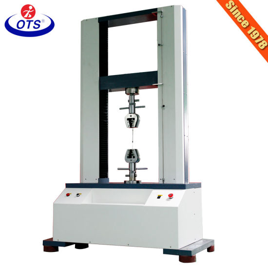 Universal Testing Instruments for Plastic Rubber Tensile Strength Testing Machine