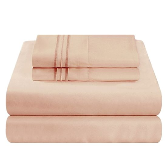 Cheap Microfiber Bedding Set Soft Bed Sheets