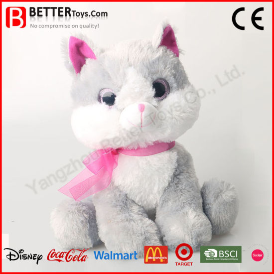 d97a7f979512 China En71 Super Soft Cuddle Stuffed Animal Plush Toy Cat for Kids ...