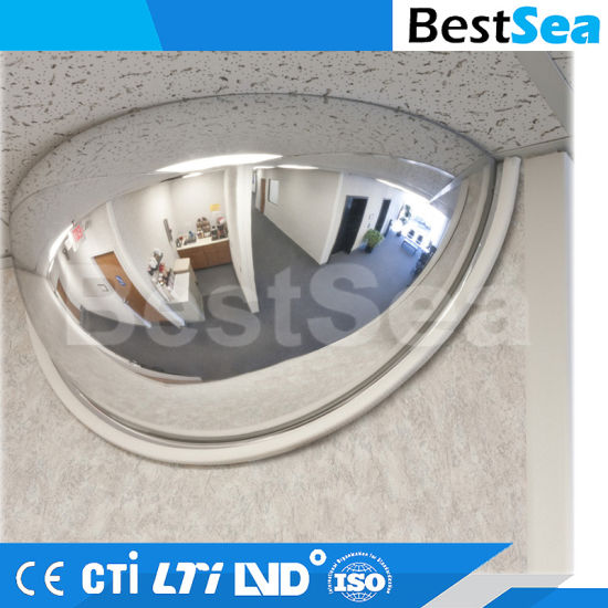 180 Degree View Unbreakable Half Dome Convex Mirror Polycarbonate pictures & photos