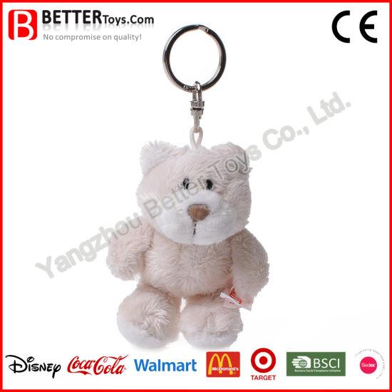 China Plush Toys Keyrings Stuffed Animal Soft Teddy Bear Keychain ... 2da3d37d40fd