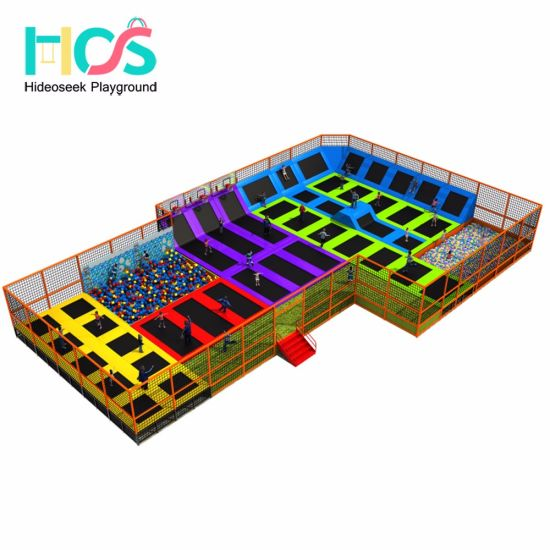2018 Ce Standard Large Indoor Trampoline Bed for Children (HS11101) pictures & photos