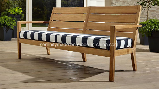 Fine Wooden Furniture Restaurant Bistro Cafe Black And White Stripe Fabric Seat Wooden Bench Machost Co Dining Chair Design Ideas Machostcouk