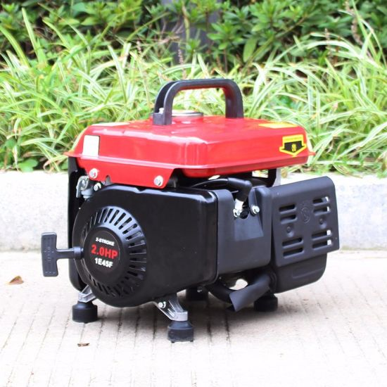 Bison (China) BS950m 650W Ce Approved Mini Household Gasoline Generator pictures & photos