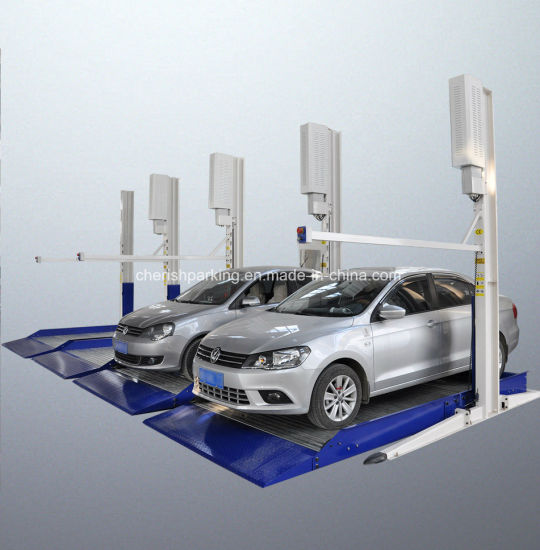 Overground Garage Equipment Two Layer Car Parking System Lifts pictures & photos