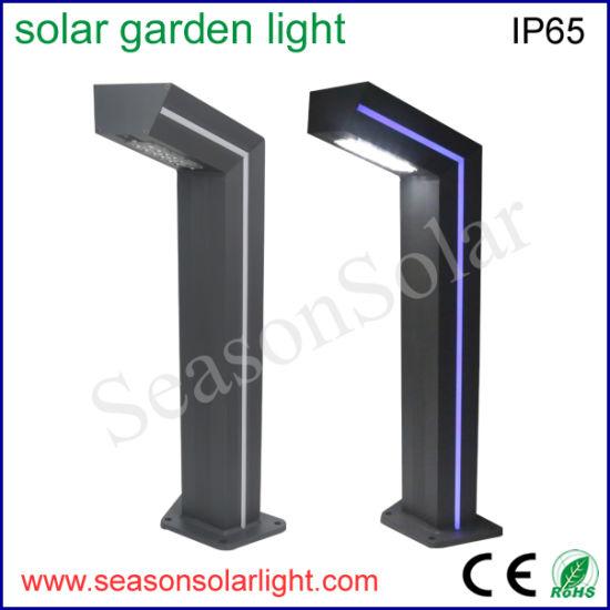 New LED Solar Light Outdoor Garden Yard LED Pathway Light Fashionable Lighting Outdoor LED Garden Light with Blue LED Strip