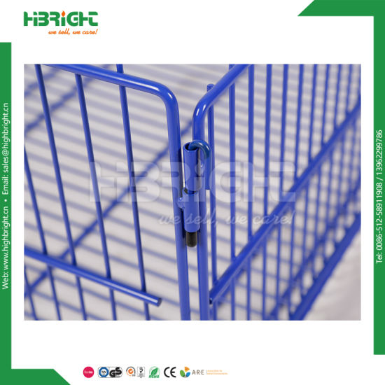 Metal Stacking Storage Cage for Supermarket pictures & photos