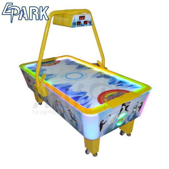 China Indoor Classic Sport Superior Air Hockey Table Coin Operated - Classic air hockey table