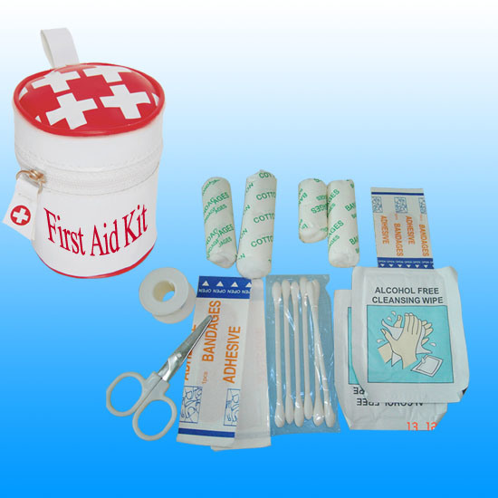 Ce, ISO, FDA Travel Mini PU First Aid Kit # Kbg-A028