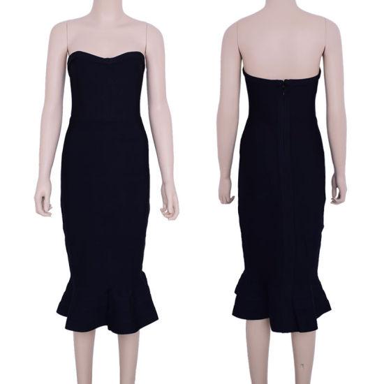 Wholesale Mermaid Bandage Dress Celebrity Club Dress Tight Cocktail Dresses