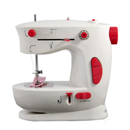 Portable Lightweight Operated Tailor Mini Sewing Machine with Both Electric and Battery pictures & photos
