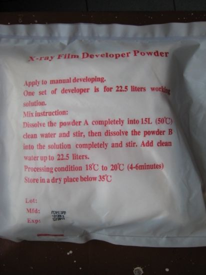 Ndt Film Fixer Powder pictures & photos