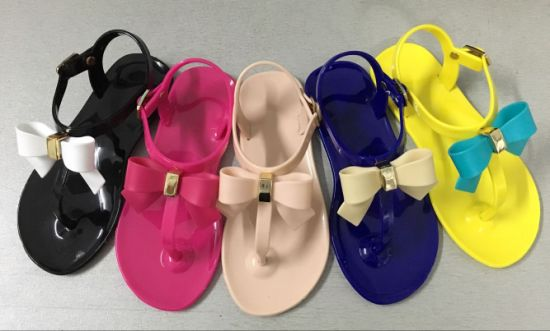 New Style Colorful Plastic Sandal