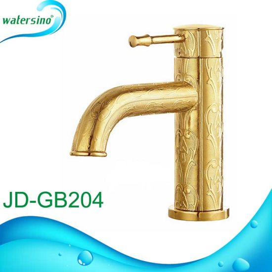 Jd-Wb201h High Rise Tap Watermark Approval Basin Faucet Chrome Mixer pictures & photos