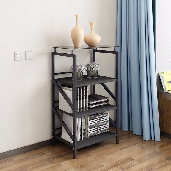 size 40 90ab8 d04d5 Fashion Metal Small Bookcase for Study Room Furniture